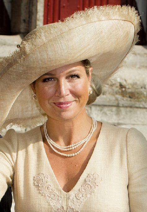 Dutch Queen Maxima arrives, for the official opening of Center for Teaching Excellence, at the University College Roosevelt in Middelburg, The Netherlands, 03.09.2014.