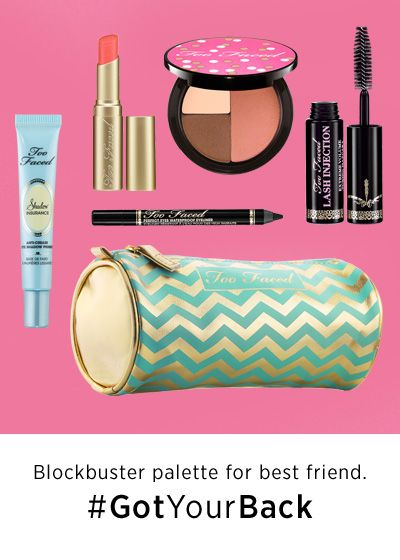 Too Faced All I Want for Christmas #GotYourBack #Sephora #Giftopia #gifts #holidayMakeup, Christmas Gift