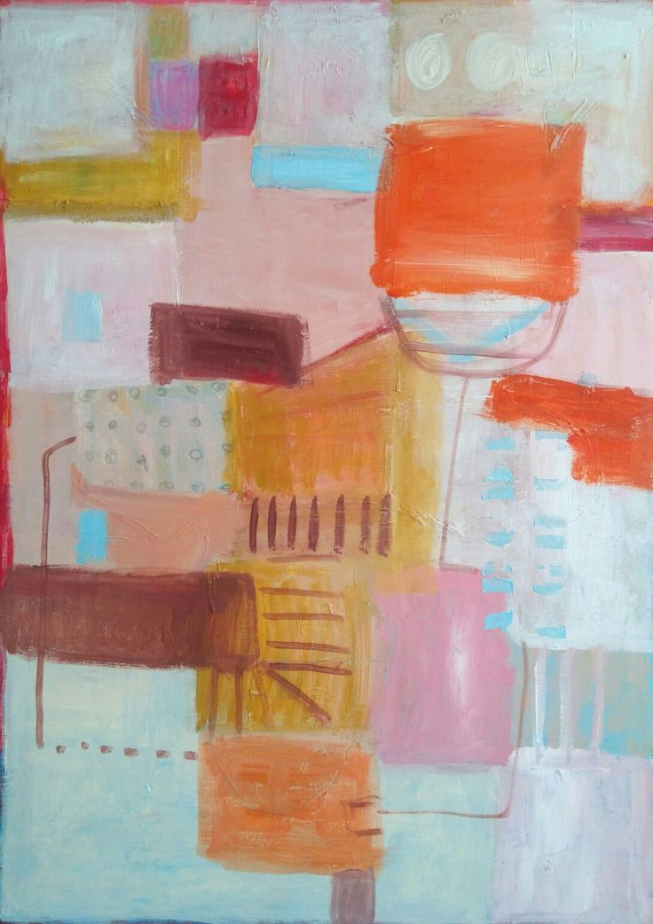 #malgorzata #kobus #pastel #mape#city#abstract #painting #acrylic