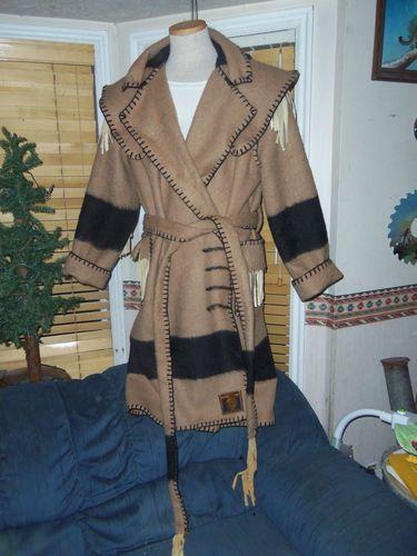 Hudson Bay Style 4 Point Witney Blanket Capote Mountain Man Rendezvous XL XXL | eBay