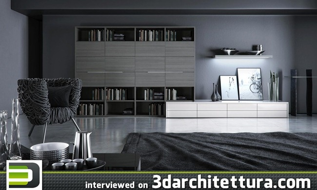 Fernando Gasperin, render, 3d, interior, 3darchitettura  www.3darchitettura.com/fernandogasperin/