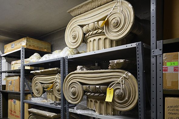 Did you know that the City of Toronto owns over 150,000 historical objects, and that they are hidden away at two sites within the city? Heritage Toronto recently offered its members a behind the scenes tour of the city's main storage facility, a perk well worth the membership price. A...