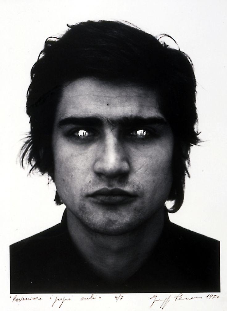 Renverser ses propres yeux, Giuseppe Penone, 1970