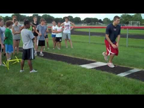 Yorkville Track Camp— Long Jump and Triple Jump drills with Coach Mizel (Part 2) - YouTube