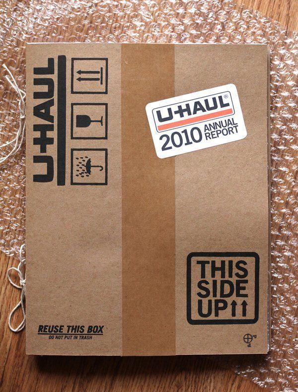 UHAUL annual report. Nice.