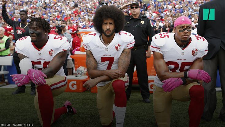 How Colin Kaepernick's Peaceful Protest Awoke A Tide Of Activism Across The NFL | HuffPost