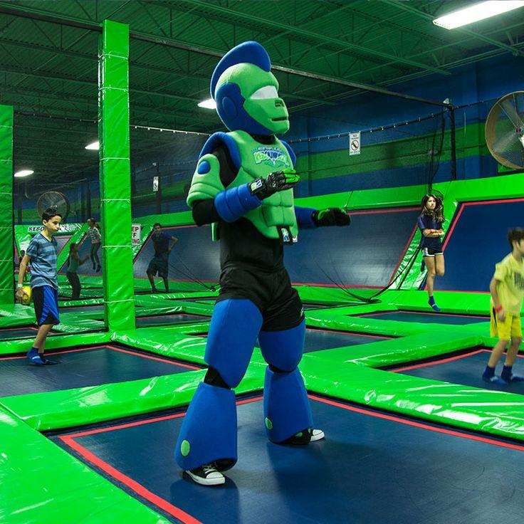 Rebounderz Family Fun Center Indoor Trampolines, Arcade