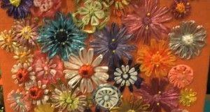 Video Tutorial telaio fiori rafia
