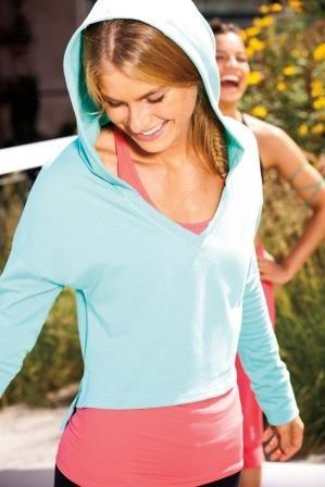 Reebok Women's Yoga Hoodie   Official Reebok Store