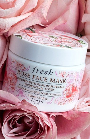 Fresh rose face mask from Sephora