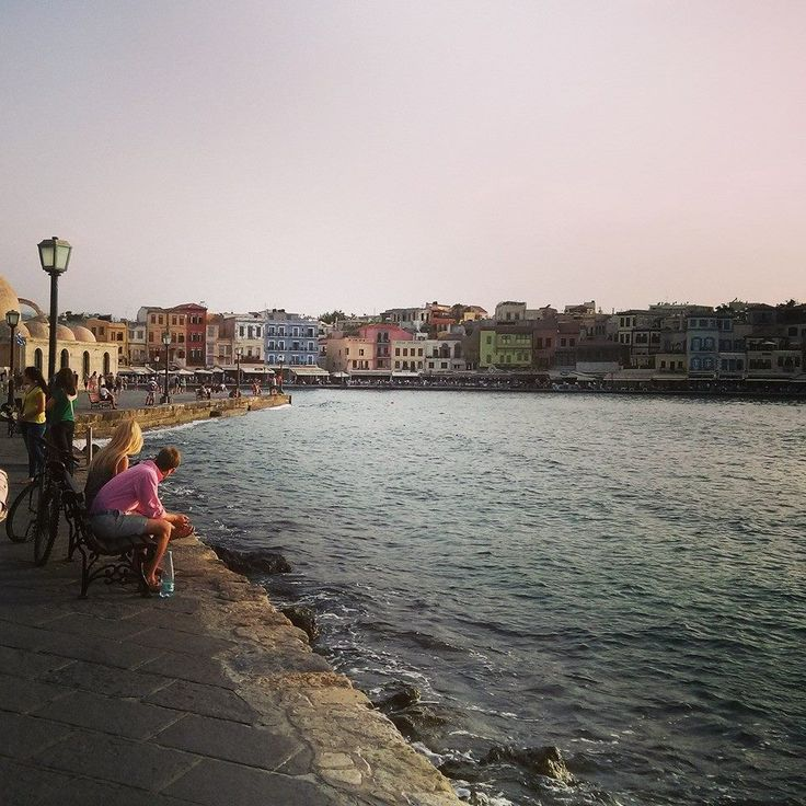 Chania old port.