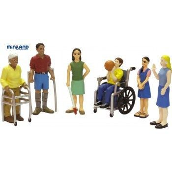 Friends with Disabilities Figurines