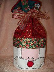 Natal/ enfeites/ suporte para panetone ou presente