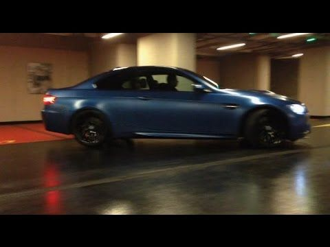 BMW M3 Coupe Frozen Blue with Evolve E-Tronic exhaust   ExoticCars.pl