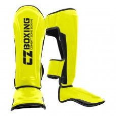 Personalized MMA Shin Guards Supplier Sialkot Pakistan MMA Shin Guards developed in full Synthetic Leather construction with hand molded.