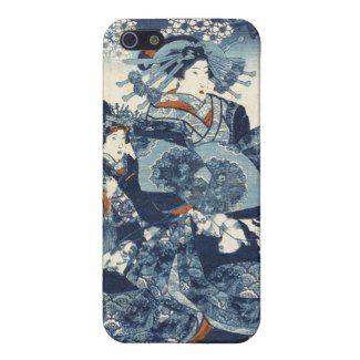 SOLD - Cool japanese vintage ukiyo-e geisha scroll art covers for iPhone 5 #classic #vintage #ukiyoe #geisha #iphone5 #case #cover #japanese #lady