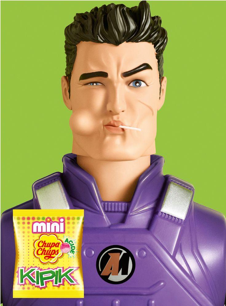 Mini Chupa Chups Kipik: Action Man
