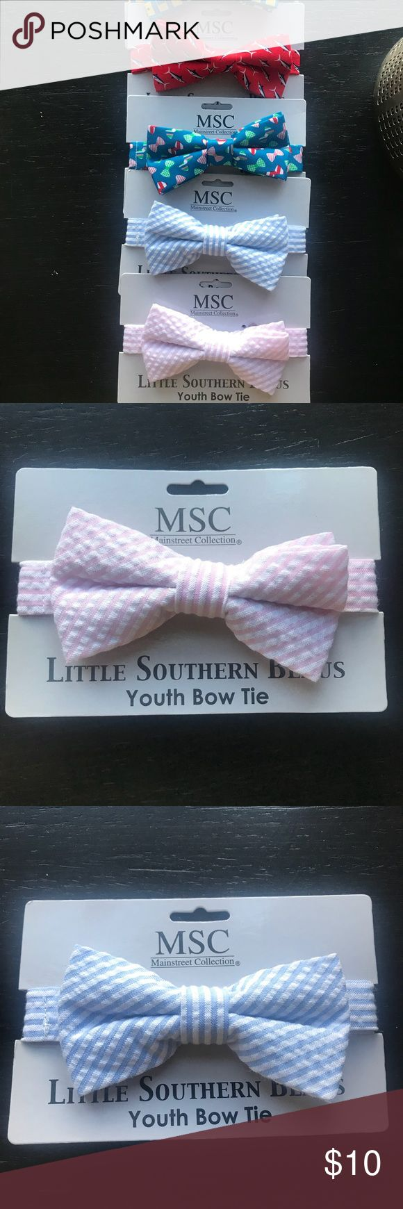 Youth Bow Tie MSC Little Southern Beaus 👔 Youth Bow Tie 100% polyester made in China  *Price is for each bow-tie Accessories Ties