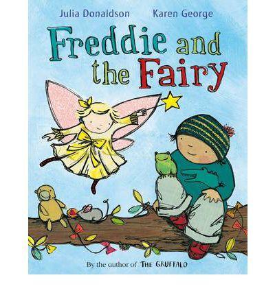 Freddie found a fairy. The fairy is deaf.