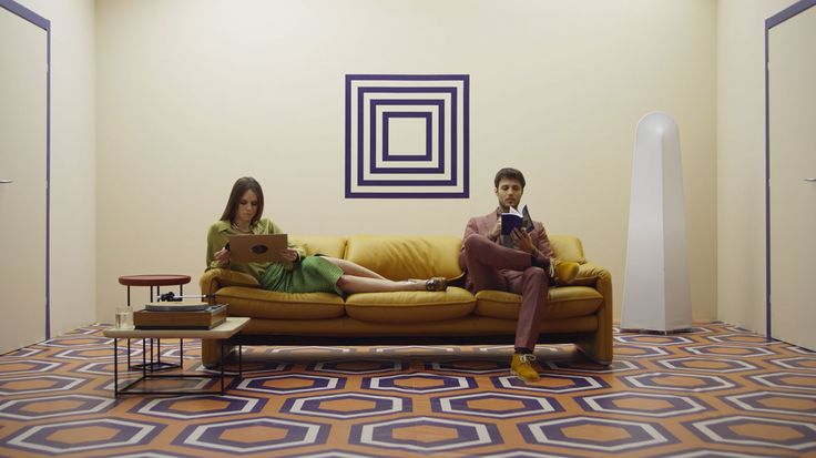 See Vico Magistretti's versatile sofa in action through every decade since its…