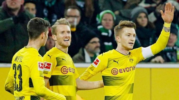 "Borussia Dortmund's Andre Schürrle on playing alongside Marco Reus and Mario Götze: ""We've wanted this for a long ...: * Borussia…"