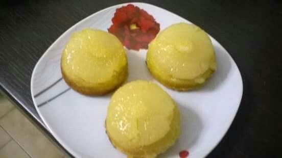 Cupcake rovesciati all' Ananas...