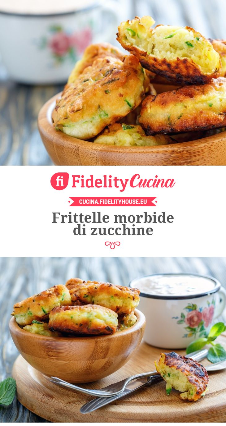 Frittelle morbide di zucchine