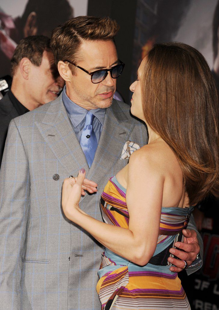 Pin for Later: PDA, Play-Fighting, and Plenty More Fun Moments From the Avengers Premiere Robert Downey Jr. and Susan Downey
