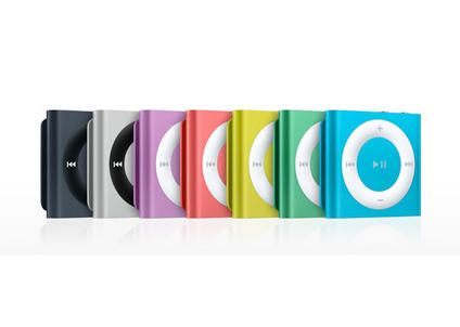 2GB iPod Shuffle perfect for pt not to big not to breakable