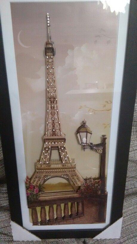 Oi meninas...esse quadro e arte francesa vitrificado...com strass..quem interessar aceito encomendas....