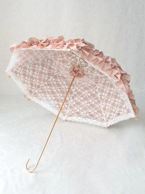 Fairy Frill Parasol ~ Victorian maiden