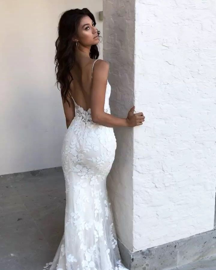 The Back Of The LESLEY Gown New From The 2019 Blue By