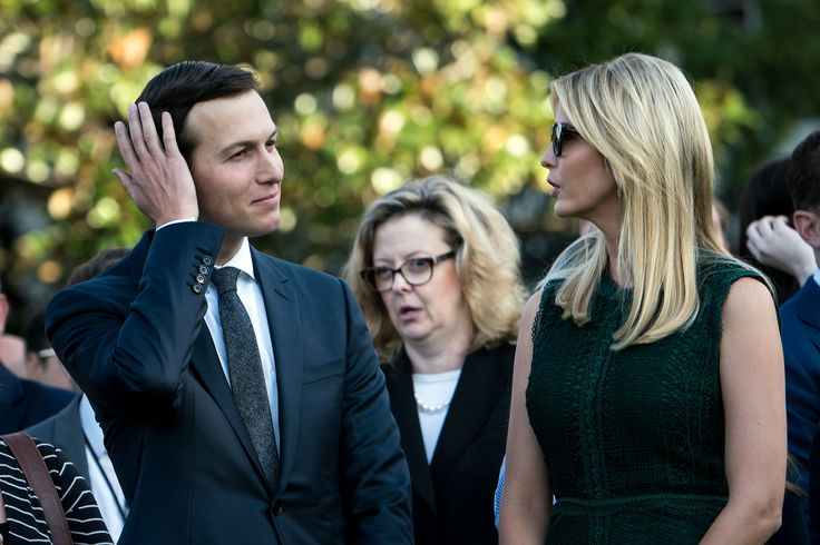 Jared Kushner is a woman. Jared Kushner is registered to vote in two states -- New York and New Jersey. It's not clear if this constitutes a breach of voting laws, but it is quite ironic considering the Trump administration's claims of widespread voter fraud.