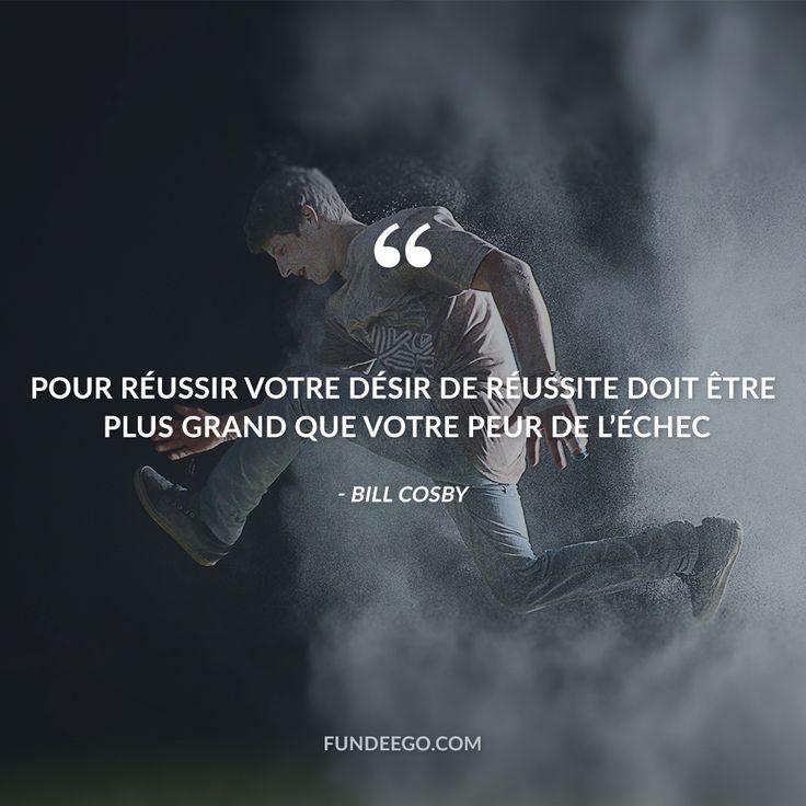 """Bill Cosby """"Pour réussir votre désir de réussite doit être plus grand que votre peur de l'échec"""" #crowdfunding #financementparticipatif #citations #unsplash #success #motivation"""