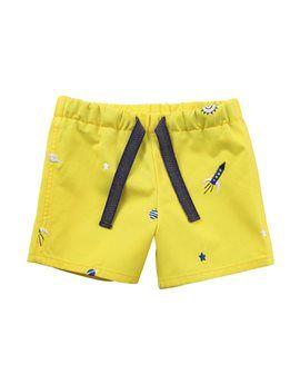 PAUL SMITH JUNIOR Baby Boys Sun Yellow Bermudas. Shop here: http://www.tilltwelve.com/en/eur/product/1059931/PAUL-SMITH-JUNIOR-Baby-Boys-Sun-Yellow-Bermudas/
