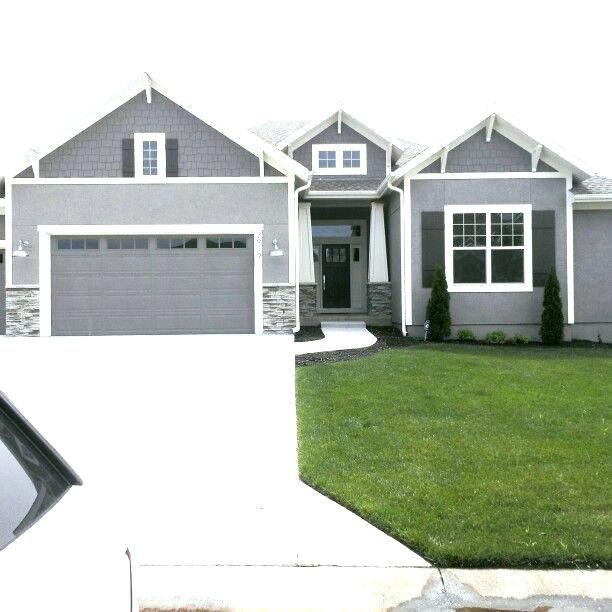 Best front door colors for light gray house white trim red - Door colors for gray house ...