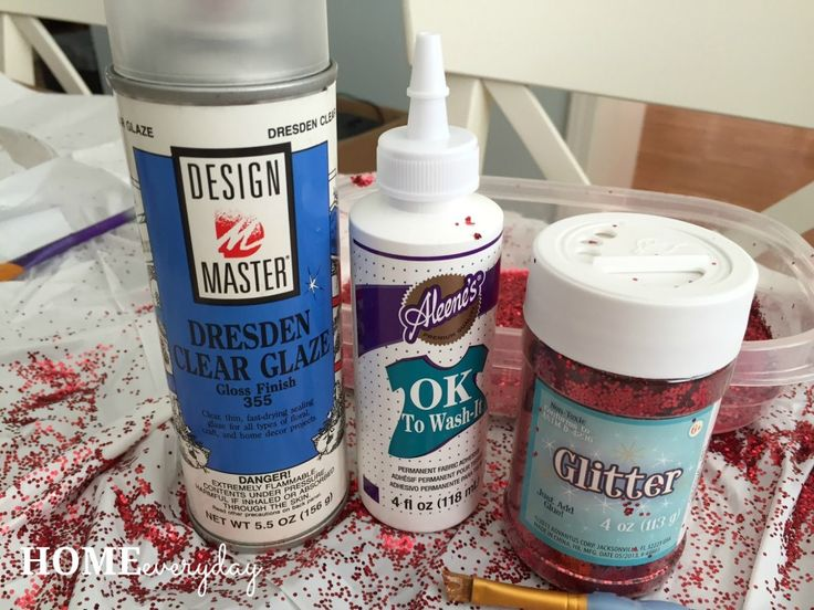 DIY Glitter Converse All Stars or There's No Place Like Home   Home Everyday
