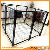 Black Power Coated Weld Mesh Dog Enclosure