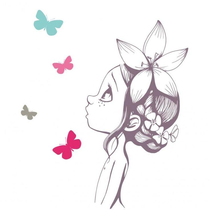 Sticker menina