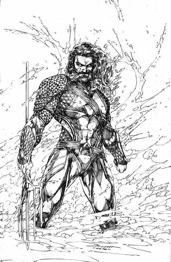 Jason Momoa Version Disegni Di Tatuaggio Supereroi Illustrazioni