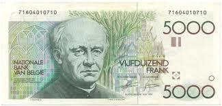 5000 belgische frank
