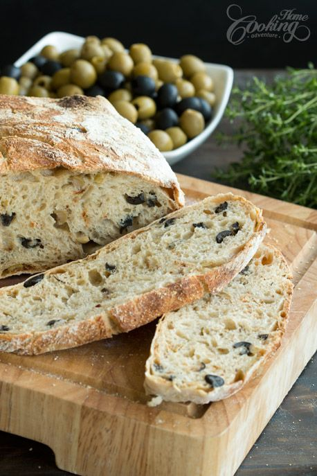 Home Cooking Adventure created this delicious Olive Bread Recipe with Olives from Spain! Try it out & tell us what you think!
