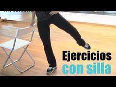 5 ejercicios para perder peso que puedes realizar con una silla sin salir de casa