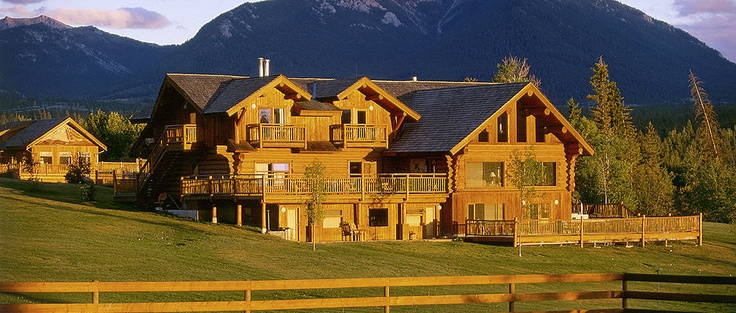 Echo Valley Ranch and Spa, British Columbia.