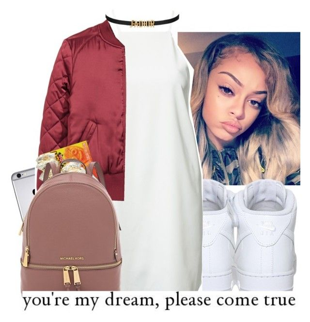 """""""""""My dream need to come true."""" 2/21/17"""" by papilucas ❤ liked on Polyvore featuring NIKE, Dark Pink and H&M"""
