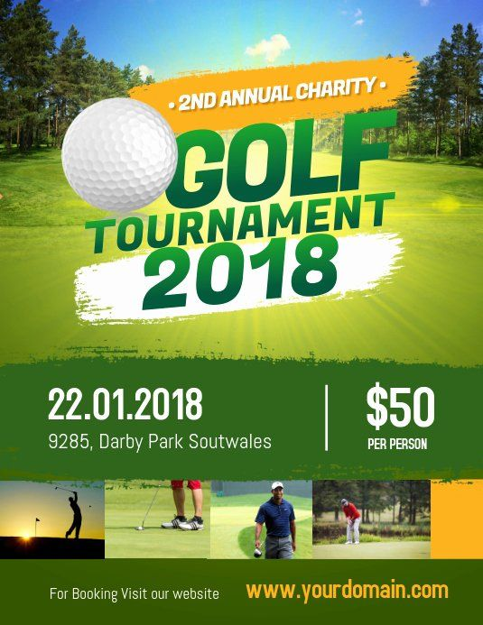 25 Free Golf Tournament Flyers Templates In 2020 Sports Flyer