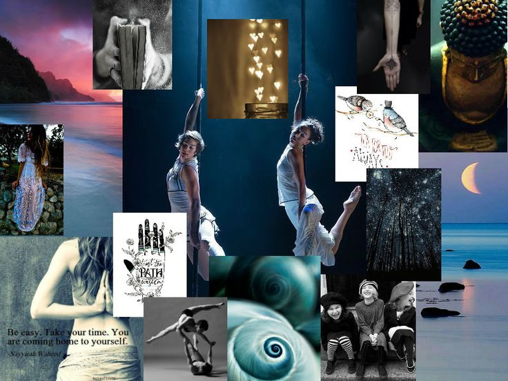 The final mood board...