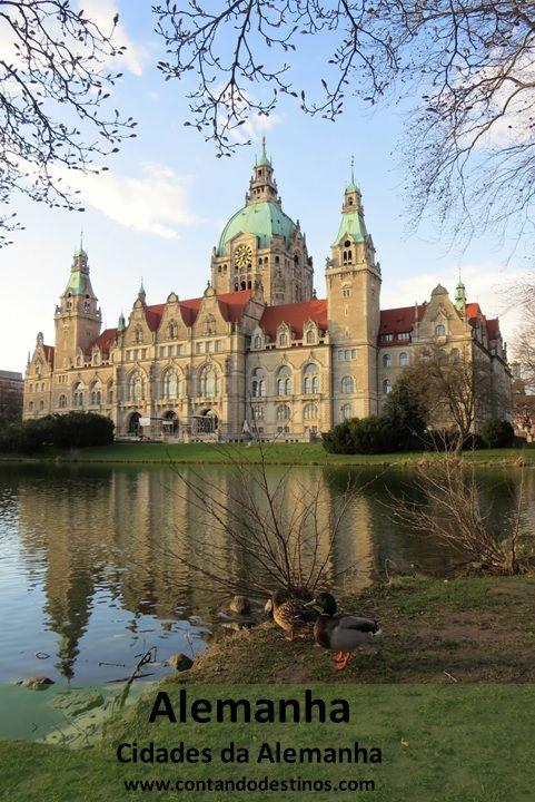 Conheça as cidades da Alemanha. Saiba o que fazer e o que ver em muitas cidades da Alemanha.