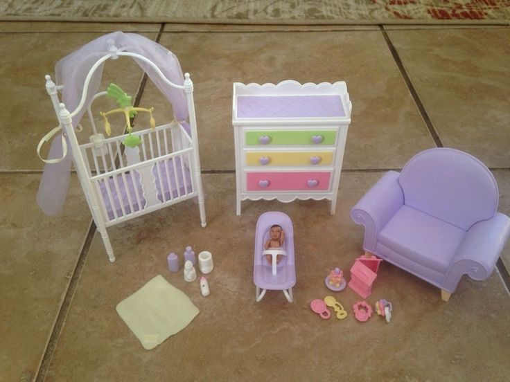Barbie Hy Family Baby Nursery Doll Set Midge Pregnant And Babies
