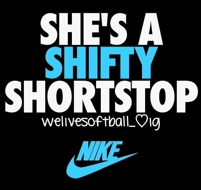 She's a shifty shortstop.